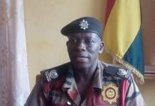 Mr Nuhu Gibri Oti Regional Director Ghana National Fire Servic