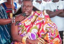 Daasebre Okogyeaman Duodu Ampem Iii Nsawkaw Chief