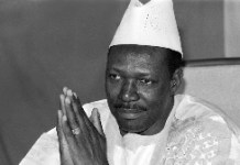 Former Malian President Moussa Traore Delivers His New Year Wishes In Bamako On December Afp