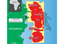 Mozambique Lng Map