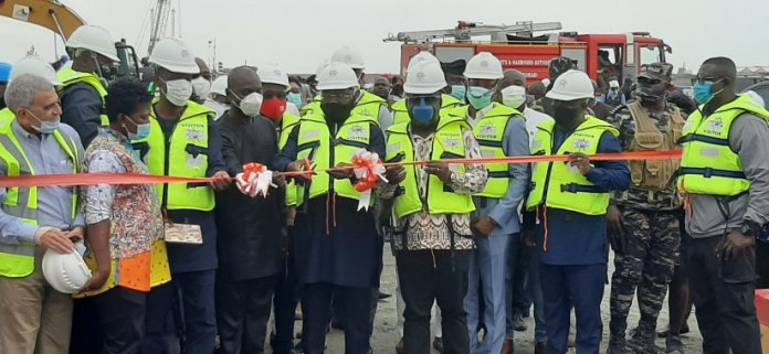 Veep Commissions Liquid Bulk Terminal At Takoradi Port