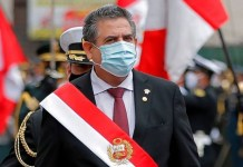President Manuel Merino
