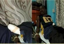 Suspect Emmanuel Ankor