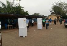 Special Voting Begins In Sunyani East