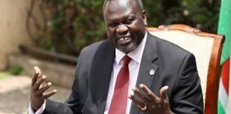 Sudan S First Vice President Riek Machar
