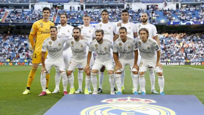 Real madrid player list