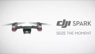 DJI、ジェスチャーで簡単操作可能な小型ドローン「Spark」を発表!