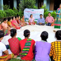 Training for female mentors on life skills and club operation held in Thanchi