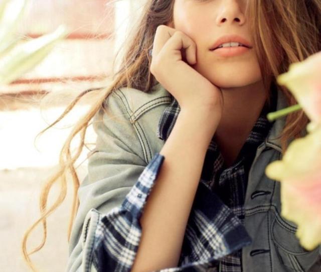 Cindy Crawfords Daughter Kaia Gerber Models For Teen Vogue