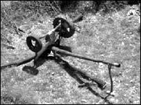 Serb decoy gun