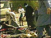 Baghdad civilian shelter bombed in 1991 Gulf war