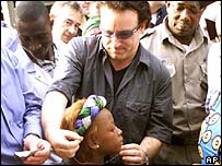 bono in africa
