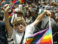 Gay pride in Jerusalem