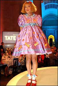 BBC image - Grayson Perry at Turner Prize