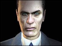 Half Life 2 GMan Face