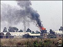 Airfield near Asmara after Ethiopian aerial attack