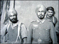 Members of the Free India Legion
