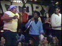 La Sugarhill Gang alla trasmissione 'Top of The Pop' nel 1979