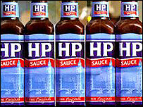HP sauce, photo from BBC
