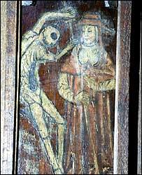 Medieval illustration of the Black Death