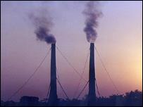 Emisiones de gas