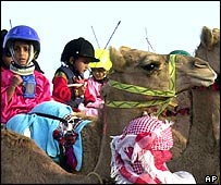 Niños jockeys