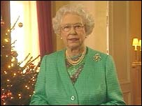 The Queen delivers her Christmas Day 2005 message
