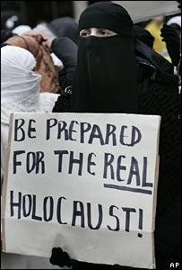 Nationalsozialistische Propaganda (Foto BBC News)