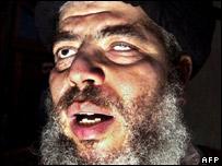 Abu Hamza image - linked from BBC News