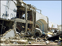 The front of the Ghazala Gardens Hotel, Sharm al-Sheikh