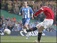 Rooney scored first goal