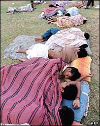Homeless people in Karachi