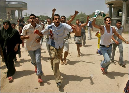 Poor Terrorists running from Real Terrorists