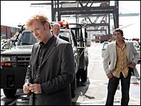 Cast members from CSI: Miami