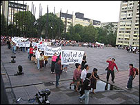 Manifestación del 2 de octubre de 2006 en México