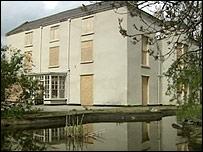 The former Bryn Alyn home