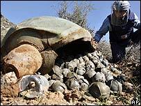 Cluster bomb in Lebanon