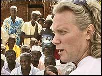 Kristian Von Hornsleth en Uganda