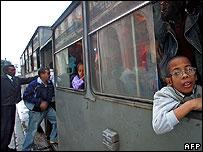 Cuban camel-bus in Havana, 22 November 2006