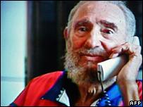 Fidel Castro, 28 de octubre de 2006