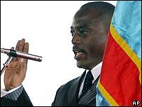 Joseph Kabila swears his oath of office in Kinshasa, 6 December