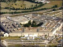 El edificio del Pentágono.