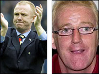 Alex McLeish and Tommy Burns