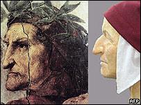 Botticelli y de Giotto representaron a Dante.