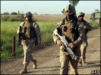 US Marines in Iraq
