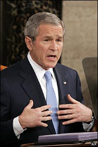 President Bush delivers his 2007 State of the Union address