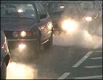 La contaminación de los veh�culos afectar�a hasta a niños que viven cerca de carreteras campestres.