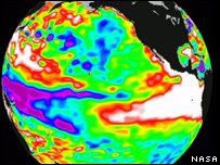 Habrá eventos climáticos más extremos y más frecuentes.