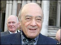 Mohamed al Fayed considera que el accidente fue producto de una conspiración.