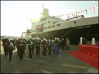 El barco explorador costo US$70 millones de dólares y fue diseñado para exploración oceánica.